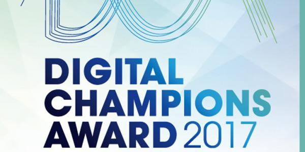 Digital Champions Award 2017 Nominiert L & D GmbH